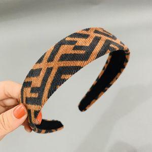 2020 Designerheadband Kadife Kadınlar BrandHeadbands Moda Lüks Kızlar Saç Bantları Eşarp Saç Aksesuarları Hediyeler FF Headwraps 2020528K