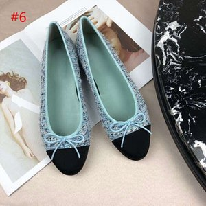 2019hot sale Loafers Famous Brand Designer Travel Prom Flats Ballet Flats Women Shoes Size 34-41 Original box