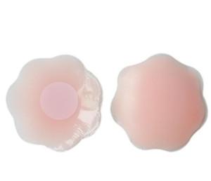 Popolare superiore riutilizzabile del reggiseno del silicone del seno della copertura dell'ugello Patch Pasties autoadesive con i capezzoli Patch nudo confortevole per le donne 2019