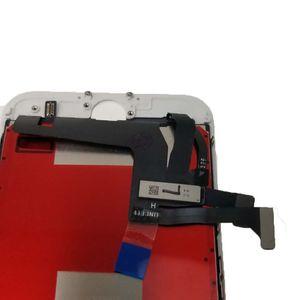 Grado A +++ per iPhone 7plus Display LCD Bianco Nero Display LCD Touch Digitizer Frame Assembly Repair per iPhone 7 Spedizione DHL gratuita