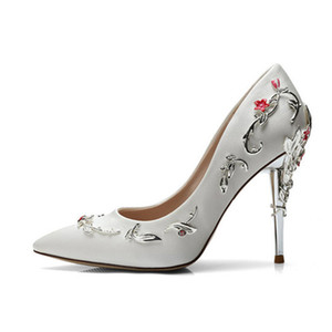 Brand New Designer Classic Women Red Bottoms High Heels Patent Leather Pointy Toe Dress Shoes Luxury Shallow Mouth Red Sole Wedding Shoes