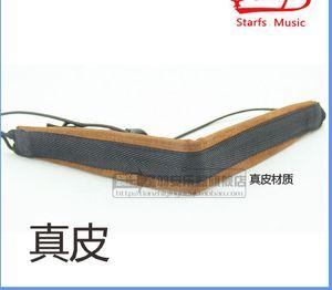 Werbe Leder Klarinette Umhängeband Sling Schwarz Schlauch Strap Oboe Sling Umhängeband Universeller