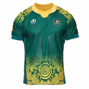 2019 AUSTRALIA Player Version RUGBY JERSEY AWAY JERSEY size S-5XL Top quality free shipping