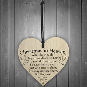1 adet Noel cennette Ahşap Kalp Plak Burcu Dostluk Ev Dekorasyon Yüksek Kaliteli Festivali Ürün Kalp Şekli L * 5