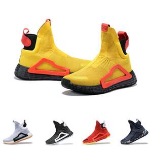 US7-11.5 N3XT L3V3L Basketbol Ayakkabıları Zach LaVine Siyah Bulut Beyaz Başbakan Örgü Ayakkabı Donovan Mitchell Spor Erkekler Için Açık Sneakers