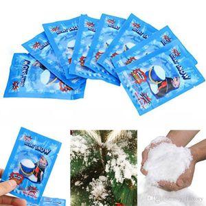 Instant Snow Magic Prop bricolage Instantané neige artificielle instantanée faux neige moelleux Super Absorbant De Mariage De Noël Décor