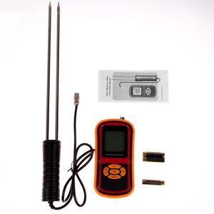 Freeshipping Testeur d'humidité Sonde pour l'alimentation Riz Blé Maïs grain humidité température numérique LCD thermomètre hygromètre compteur d'humidité