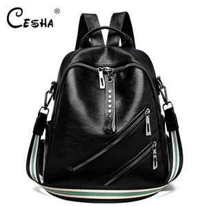 Real Leather Women Backpack High Quality Durable Leather Shoulder Bag Fashion Female Daypack Travel Backpack SAC