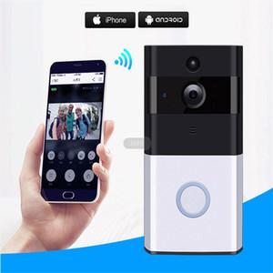 Z-BEN sans fil vidéophone HD 720P IP Intercom Sonnette Caméra batterie d'alimentation audio carte SD extérieure dormen2019
