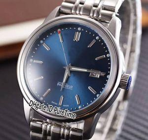 Nueva familia Ingenieur IW323310 caso de acero Esfera Azul Miyota automático del reloj para hombre del acero inoxidable de los relojes baratos 248a1