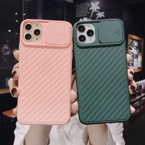 Hot Slide Camera Cover For iPhone 11 11Pro Max X XR XS Max 7 7Plus 8 8Plus Lens Protection Case Fashion against drops