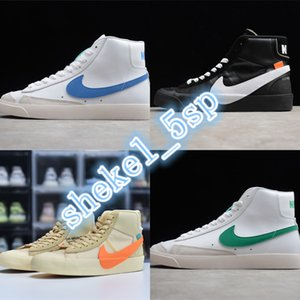 SB Zoom Blazers Mid 77 Vintage Lucid Green 1977 QS Edge Womens Shoes Basketball Sneakers mens designer blazers Hack Pack midnight BQ6806-600