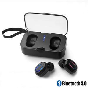 Nouveau Casque Bluetooth T18S Twins Real Wireless Mini Casque Bluetooth Sport TWS 5.0 Cool Casque avec boîte de charge / stockage