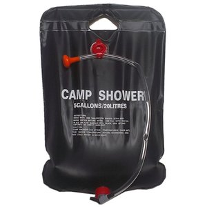 Solar Shower Camp Shower Bag 20 liters black