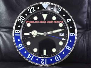 8 стиль высокое качество GMT Бэтмен Часы настенные часы 34см х 5см 1,5 кг кварцевый механизм 316 сталь модель 116710 116719 часы Часы