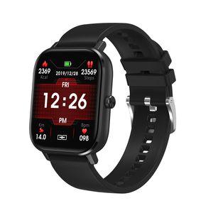 Pressão DT35 relógio inteligente Homens Bluetooth Chamada full touch de Fitness Rastreador Sangue Relógio Inteligente IP67 Mulheres Smartwatch para amazfit x