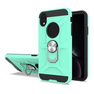 Для Huawei Mate 30 Pro Lite Nova 5T P40 Lite 6SE вращение Металлического кольца противоударных защит Магнитного ПК TPU Брони телефон Чехол
