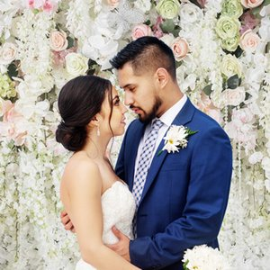 150X210CM Vinyl Photo Studio Background Flower Wall Photography Backdrop For Wedding Party Photo Prop