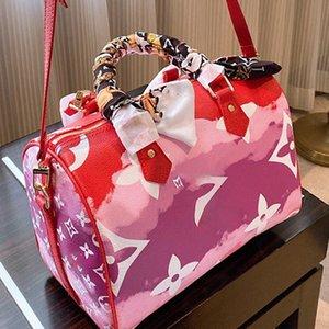 Hot Sales Gradient Color Canvas Fashion Shoulder Bag Tote Handbags Newest Shopping Bag Purse Oversized Messenger Bag tote 3 colors Type6