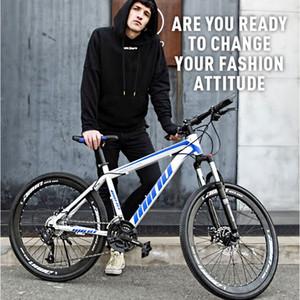 Montaña directo de fábrica de bicicletas 24/26 pulgadas del freno de disco absorción de choque regalo de la promoción masculina y femenina Variable Speed Bike