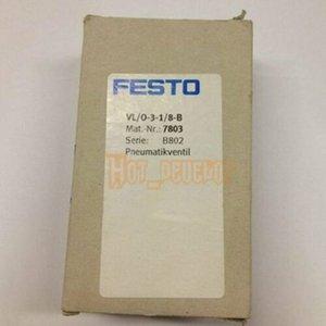 Novo Para FESTO válvula de controlo pneumática VL / 0-3-1 / 8-B (7803)