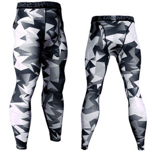 tight Mens Compression Pants Sports Running Tights Basketball Gym Pants Bodybuilding Joggers Jogging Skinny Leggings Trousers Sportwear