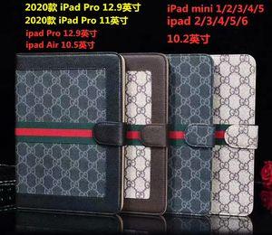 """caso di modo per Ipad Air 5 6 ipad pro 12.9"""" (2020) per Ipad Mini 1 2 3 4 10.2 Copertura di cuoio premio in contanti pockes Shell con chiusura magnetica"""