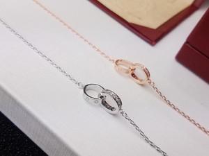 Bracciale FAHMI a doppio anello, parte superiore per creare fascia alta personalizzata, bracciale Yajin con micro-intarsio di diamanti, coda superba con intarsio originale