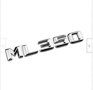 Chrome Letters Ml 350 Trunk Emblem Emblems For Mercedes Benz W166 W164 Ml350