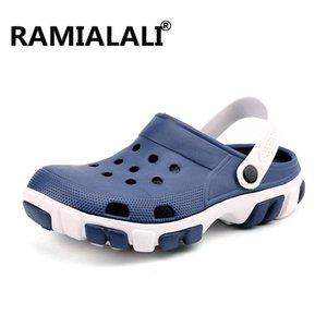 Ramialali Outdoor Homens Sandals Men Summer Garden Shoes Man Light Beach Slippers Sandals Men Shoes sapatênis