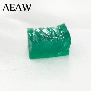 """AEAW RaW creados laboratorio Colombia Esmeralda """"CCE"""" suelta la piedra preciosa para la joyería 11x23mm sobre 20CT quilates CJ191219"""