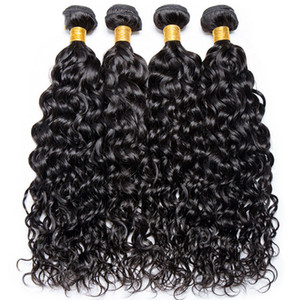 Womens Nero Commercio Estero parrucca nera dell'onda naturale Chemical Fiber capelli naturali Riccioli personalizzati Spot fabbrica