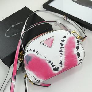 Cámara Bolsas de piel completa Media Luna Color de la correa a juego del gancho del metal bolso de cuero genuino del envío de la alta calidad