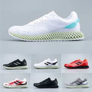 2020 NEW 4D Run 1.0 LTD Big Game Miami Parley Footwear White Core Black Metallic Men Metallic Men Shoes Casul 40-45