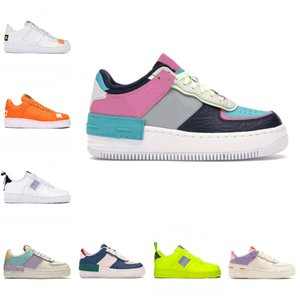 2020 Nike Air Force 1 Just Do It AF1 Scarpe da corsa a buon mercato WMNS Ombra Tropical Twist Sneaker Trainer All White Low Cut One 1 Dunk Scarpe