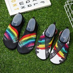 Neue Ankunft Tauchen Socken Schnorcheln Socke Strand Schuhe Rutschfeste Schnell Trocknend Komfortabel Lüften Druck Liebhaber Paar Mode Hot 16tmG1