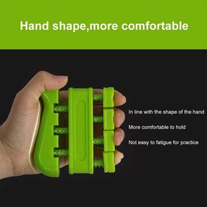 Recovery Portable Sports Grip Strengthener Guitar Finger Exerciser Gym Ergonomic Fitness Equipment Piano Spring Training Two Way Hand Grips