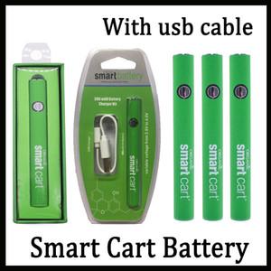 USB Şarj Tr Vizyon Spinner Vmod Palm ile Akıllı Sepet Pil Vape Kalem 510 Konu Kartuşları 380mah Değişken Voltaj Ön ısıtma Pil
