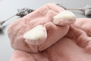 2019 New Newborn Clothing Baby Boys & Girls Winter Cute Rabbit Ears Cotton Coat Baby Child Cotton Jacket Boys And Girls Cotton