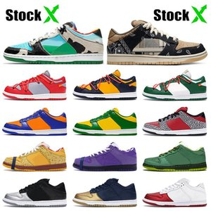 StockX SB DUNK Low Designer Kentucky Skateboard Sneakers Safari Chunky Dunky Mens Womens Casual Shoes fashion Syracuse Trainers