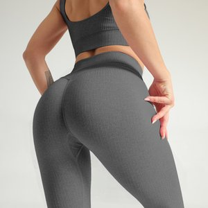 Womens Sexy Seamless knitting Slim Fitness Sports Leggings For Ladies Breathable Yoga Jogging Active Elastic Skinny Pants