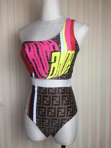 Nouvelle arrivée sexy maillot de bain FF Designered Femmes Bikinis Costumes Deux grandes marques de luxe Pieces Maillots de bain Maillots de bain vacances Robe LB B105535L