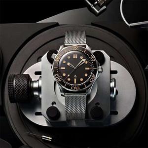 جديد فاخر الميكانيكية رجالي الساعات المهنية 300M جيمس 007 الأسود الهاتفي الحركة التلقائية مصمم الساعات MONTRE دي لوكس ساعة اليد