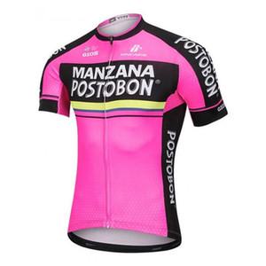 estate squadra Manzana Postobon top in jersey ciclismo maniche corte Mountain Bike Abbigliamento traspirante biciclette Quick Dry A6919