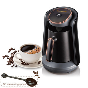 800 Вт автоматическая турецкая кофеварка машина Беспроводной электрический кофейник пищевой МОКа кофе чайник для подарка 220 В