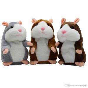 Nouveau Parler hamster souris Animaux en peluche Hot Mignon Speak Parler de son enregistrement Hamster jouet éducatif pour les enfants Cadeaux 15 cm