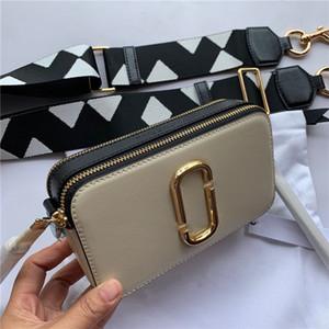 Multi Pochette de alta calidad bolsos del bolso de las mujeres famosas de diseño de lujo piel de vaca de la cámara de igualación de color bolsas de cuero manera del bolso de Crossbody
