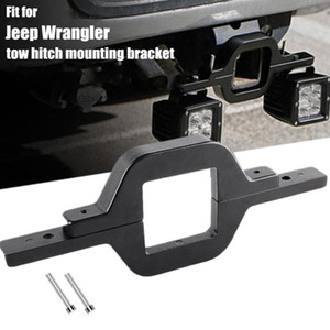 Car Accessories Tow Hitch Mounting Bracket for Dual LED Work Light Driving Lighting Reverse Compatible with Truck Off-Road Trail