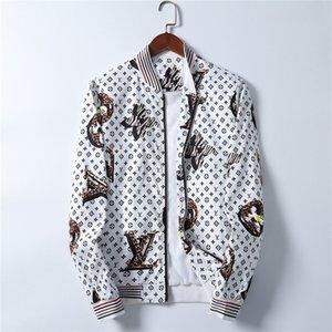 20SS BRAND NEW Men's Jacket Fashion Autumn 2020 New Print Casual Jacket Mens Japanese Streetwear Designer Clothes Plus