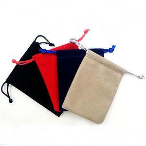 100Pcs Dice Bags Dungeons And Dragons Dedicated Dice Bags Board Games Dice Box Tarot Card Bag Velvet Drawstring bags Board Game